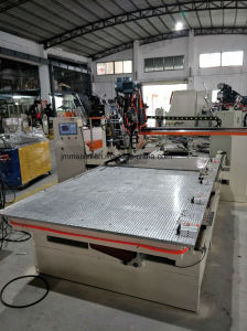 2 Axis CNC High Speed Industrial Square Glass Cleaning Drilling and Tufting Brush Making Machine pictures & photos
