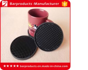 Cheap 3D Soft PVC Beer Coaster for Mat Using