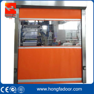 Industrial PVC Rapid Rolling up Door (HF-69) pictures & photos