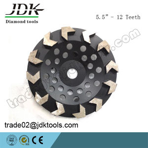 Arrow Segment Diamond Cup Wheel for Concrete Grinding Tools pictures & photos
