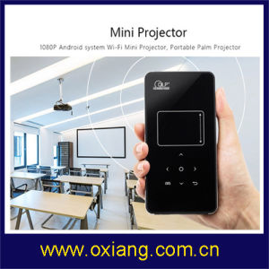 Newest LED Projector C2 Android 4.4 Rk3128 1g/8g Portable Pocket Mini Projector 2.4G/5g WiFi Android Projector with High Quality pictures & photos