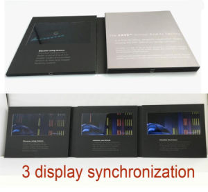2017 Newest 5inch LCD Screen Invitation Video Card for Party pictures & photos