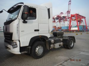 Sinotruk HOWO A7 4X2 371HP Tractor Truck pictures & photos