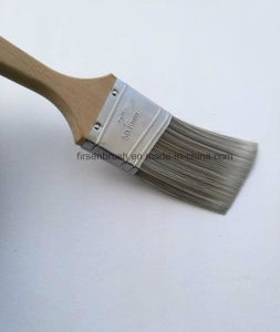 Quality Synthetic Filament Paint Brush with Long Sash Wooden Handle pictures & photos