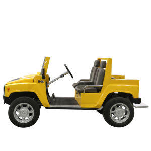 Electric 4WD Hummer Golf Electric Car Independent Suspension for Sale pictures & photos