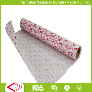 OEM Printed Parchment Paper Roll for Supermarket Retail pictures & photos