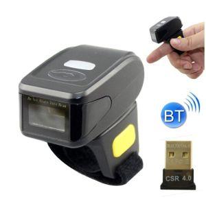 Ring Bluetooth 1d Laser Barcode Scanner/Mini Scanner for Scanning