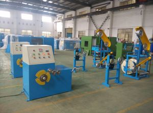 Core Cable Wire Wrapping/Coiling Machine pictures & photos