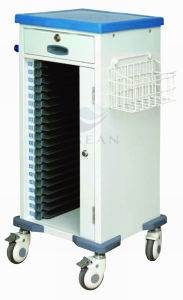 AG-Cht010 with High Quality Plastic Material Hospital Cheap Patient Trolley pictures & photos