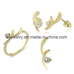 Beautiful Women Pendant Earring Ring Jewelry Set pictures & photos