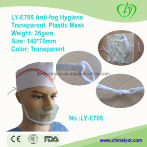 Ly-E705 Hygiene Transparent Anti-Fog Plastic Mask pictures & photos
