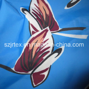 300t Nylon Taffeta Fabric with Printing for Jacket, Down Jacket, Waterproof