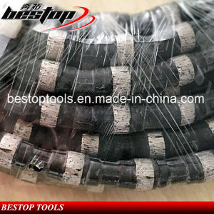 Rubber Diamond Wire Saw for Marble Granite Concrete Cutting pictures & photos