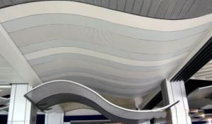 Single and Double Curved Honeycomb Panels for Airport Decoration pictures & photos