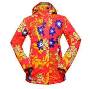 Outdoor Professional Ski Suits Wonem′s Ski Jacket pictures & photos