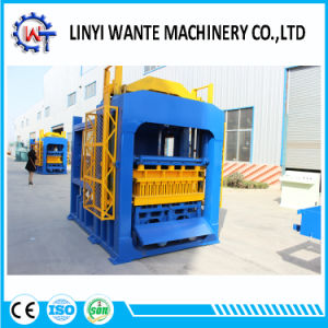 Qt10-15 Hydraulic Fully Automatic Curbstone Hollow Color Block Brick Making Machine pictures & photos