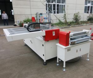 Double-Station Semi-Auto Book Case Making Machine (ZX-500B) pictures & photos