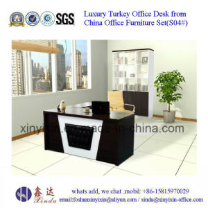 Melamine Executive Office Desk in Wooden Office Furniture (S21#) pictures & photos