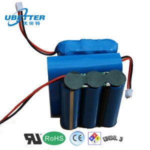 Hot Sales 12V 2600mAh Lithium Ion Battery Pack pictures & photos