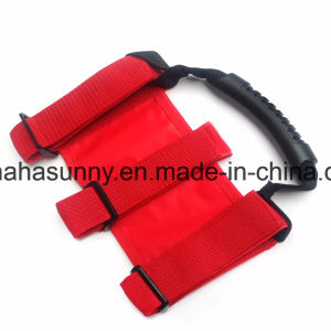 Red Cloth for Jeep Wrangler 4 Door Front/Rear Grab Handle pictures & photos