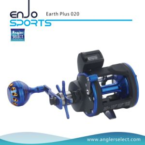 Earth Plus Trolling Reel 3+1 Bb / Right Handle Fishing Reel for Saltwater and Freshwater (Earth Plus 020) pictures & photos