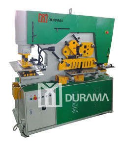 Hydraulic Ironworker with Notching, Punching and Cutting Functions pictures & photos
