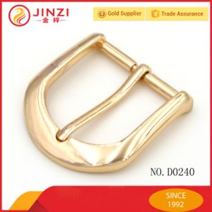 Shiny Pin Belt Buckle Metal Pin Buckles for Handbag pictures & photos