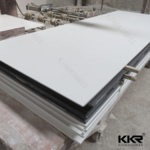 Kkr 12mm Glacier White Acrylic Solid Surface for Countertop 061603 pictures & photos