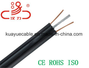 Telephone Cable Fig8 Drop Wire Idsl/Computer Cable/ Data Cable/ Communication Cable/ Connector/ Audio Cable/Drop Wire/Linan Cable/Hanli Cable pictures & photos