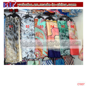 Silk Scarf Shawl Polyester Scarf Yiwu China Agent (C1030) pictures & photos
