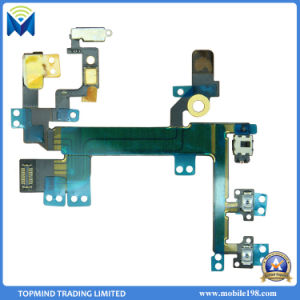 Replacement Power Volume Mute Button Flex Cable for iPhone Se pictures & photos