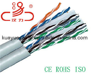 UTP CAT6 Cable Copper 23AWG Marle/Computer Cable/ Data Cable/ Communication Cable/ Connector/ Audio Cable/Network Cable pictures & photos