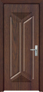 Ukraine/Romania Design PVC Wooden Door (PVC door) pictures & photos