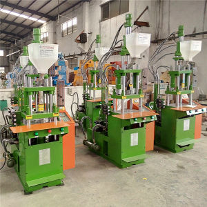 PVC Vertical Injection Molding Mould Machine for Plug Cable pictures & photos