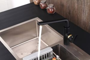 Contemporary Kitchen Faucet with Black Color pictures & photos