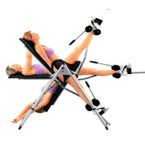 Cheap Home Gym Fitness Equipment Workout Inversion Table pictures & photos