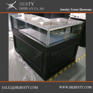 Jewelry Sitting Down Display Showcase with LED Light pictures & photos