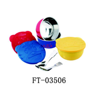 Stainless Steel Children Bowl (FT-03506)
