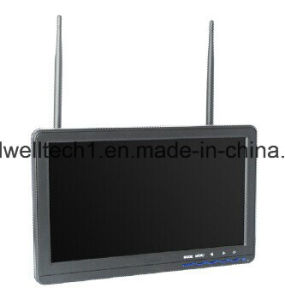 "10.1"" 16: 9 CCTV LCD Monitor with 32 Channel Wireless AV Receiver pictures & photos"