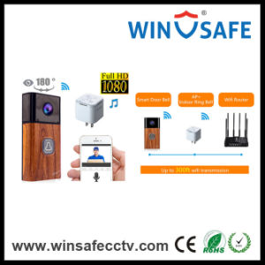 WiFi Video Doorbell Wireless Indoor Chime 180  º View IP Mini Camera pictures & photos