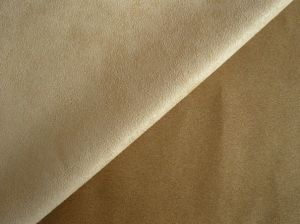 100% Polyester Fabric Microfiber Suede Waterproof Fabric for Home Textile pictures & photos