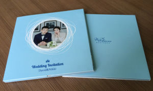Low Price Custom Invitation LCD Video Greeting Card/ Brochure Card 5inch with High Quality pictures & photos