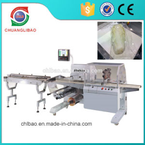 Full Servo Food Vegetable Fruit Flow Wrap Packing Machine