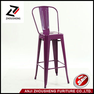Wholesale The Cheap Bar Furniture Metal Bar Stool Bar Chair for Bistro or Bar pictures & photos