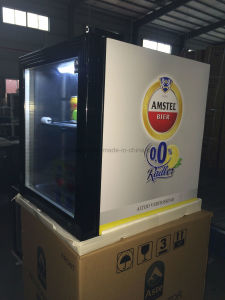 50L Table Top Mini Bar Fridge for Bottle Drink in Bar Shop pictures & photos