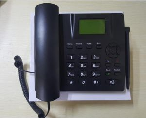 2g or 3G GSM/WCDMA Fixed Wireless Desktop Phone with FM Radio and TNC Multi Language pictures & photos