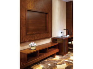 Walnut Hotel Bedroom Furniture Customized Wooden Queen Bedroom Furniture pictures & photos