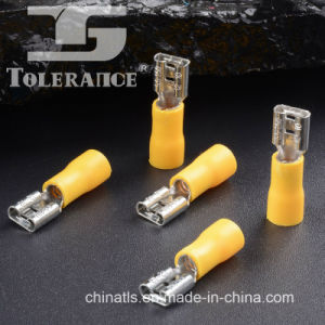 Popular Directly Manufacture PVC Brass Insulated Female Terminals pictures & photos