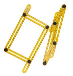 Multifunction Folding Ruler Yellow Practical Metric Scale pictures & photos