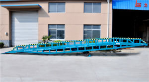 6ton 8ton 10ton Manual Hydraulic Forklift Container Dock Leveler (DCQY10-0.8) pictures & photos
